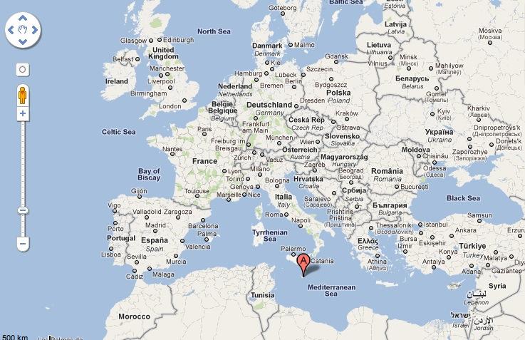 karta malta europa Malta | Sofia & John's reseblogg karta malta europa