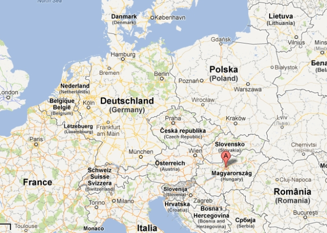 Budapest Karta Europa Sofia John S Reseblogg