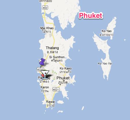 Karta Thailand Patong.Om Phuket Som Du Kanske Visste Eller Inte Visste Sofia John S